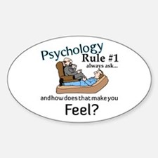 Therapy Oval Sticker (10 pk)