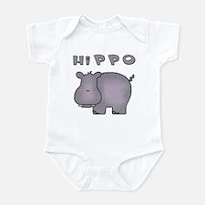 Hippo Infant Bodysuit