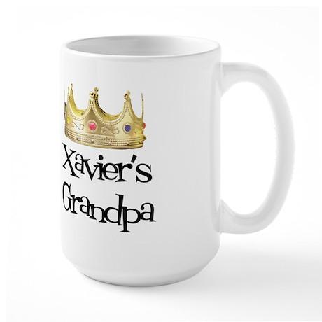 Xavier's Grandpa Large Mug