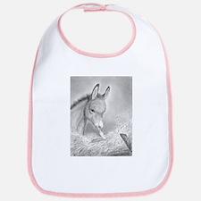 Baby Jesus Blessing Donkey ~ Baby Bib