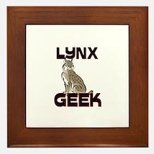 Lynx Geek Framed Tile