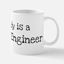 My Daddy is a Software Engine Mug