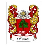 Oliveira Family Crest Small Poster