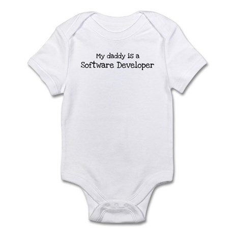 My Daddy is a Software Develo Infant Bodysuit