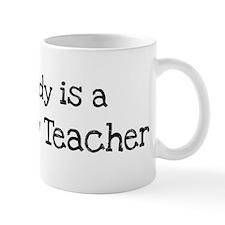 My Daddy is a Sociology Teach Mug