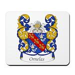 Ornelas Family Crest Mousepad