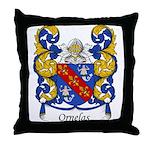 Ornelas Family Crest Throw Pillow