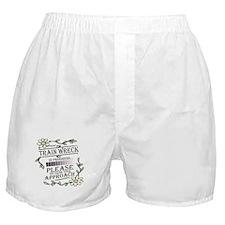 Train Wreck Boxer Shorts