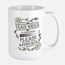 Train Wreck Large Mug