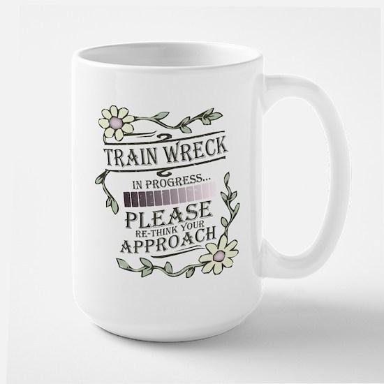 Train Wreck Large Mug
