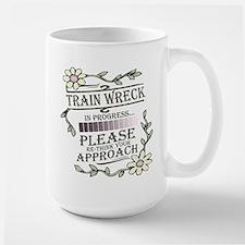 Train Wreck Mug