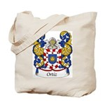 Ortiz Family Crest Tote Bag