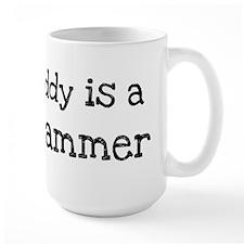 My Daddy is a Programmer Mug