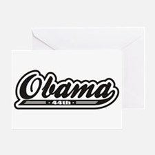 Cute 2008 michelle and obama Greeting Card