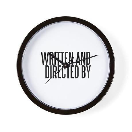 Screenwriter / Director Wall Clock