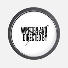 Screenwriter / Director Wall Clock