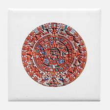 Aztec Sun Stone Replica Tile Coaster