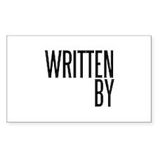 Screenwriter Rectangle Decal