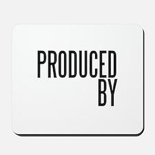Film Producer Mousepad