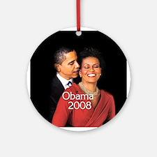 Obama Whisper Ornament (Round)