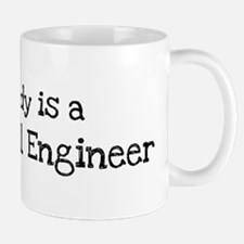 My Daddy is a Mechanical Engi Mug