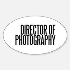 Director of Photography Oval Decal