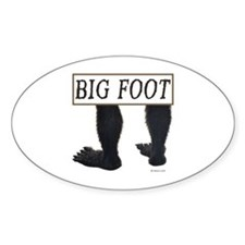 BIGFOOT ~ Oval Decal