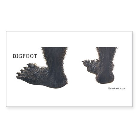 BIGFOOT ~ Rectangle Sticker