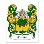 Palma Family Crest Small Poster