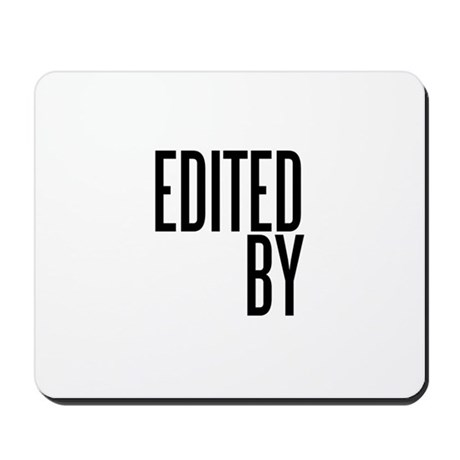 Film & Video Editor Mousepad