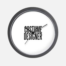 Costume Designer Wall Clock