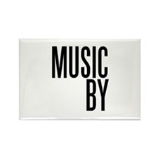 Movie Music Composer Rectangle Magnet