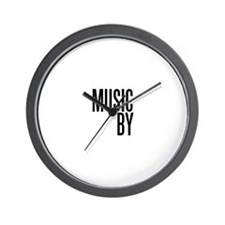 Movie Music Composer Wall Clock