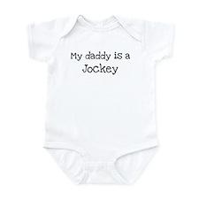 My Daddy is a Jockey Infant Bodysuit
