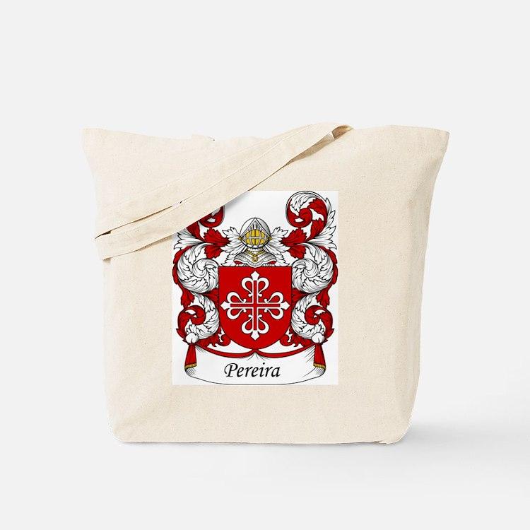 Pereira Family Crest Tote Bag