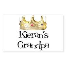 Kieran's Grandpa Rectangle Decal