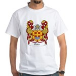 Peres Family Crest White T-Shirt