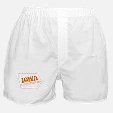 Flat Iowa State Boxer Shorts