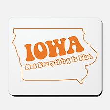 Flat Iowa State Mousepad