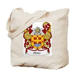 Peres Family Crest Tote Bag