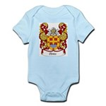 Peres Family Crest Infant Creeper