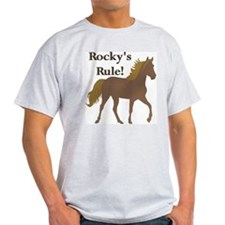 Rocky's Rule II Ash Grey T-Shirt
