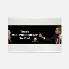That One/Mr. President Rectangle Magnet
