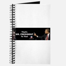 That One/Mr. President Journal
