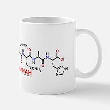 Hannah name molecule Mug