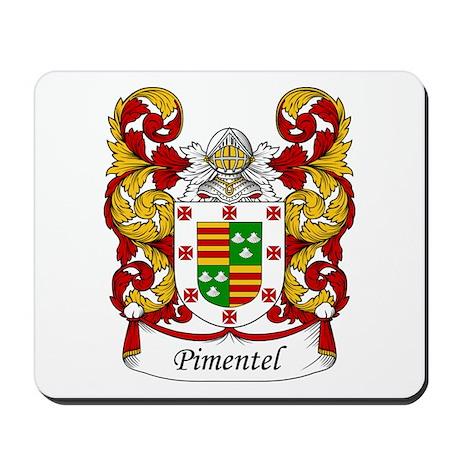 Pimentel Family Crest Mousepad