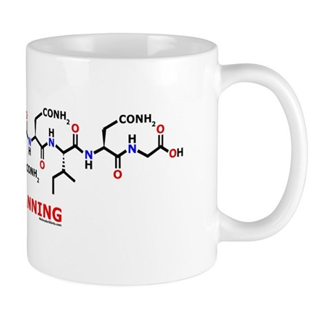 Channing name molecule Mug
