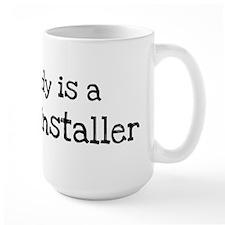 My Daddy is a Drywall Install Mug