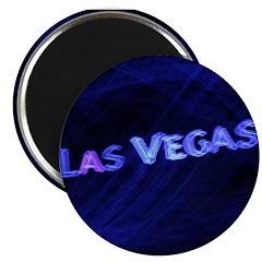 Las Vegas Neon Magnet