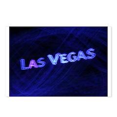 Las Vegas Neon Postcards (Package of 8)